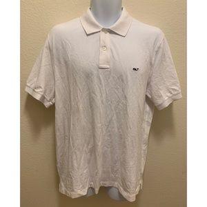 Vineyard Vines Slim Fit Polo Shirt White L